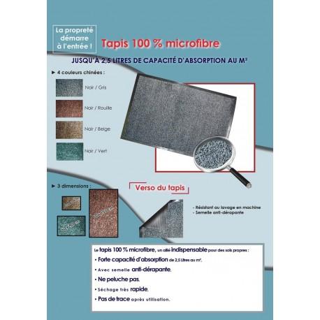 Tapis Microfibre Anti-Salissures