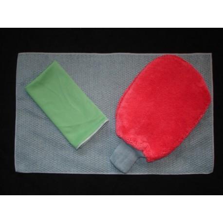 Kit Microfibre Spécial Voiture